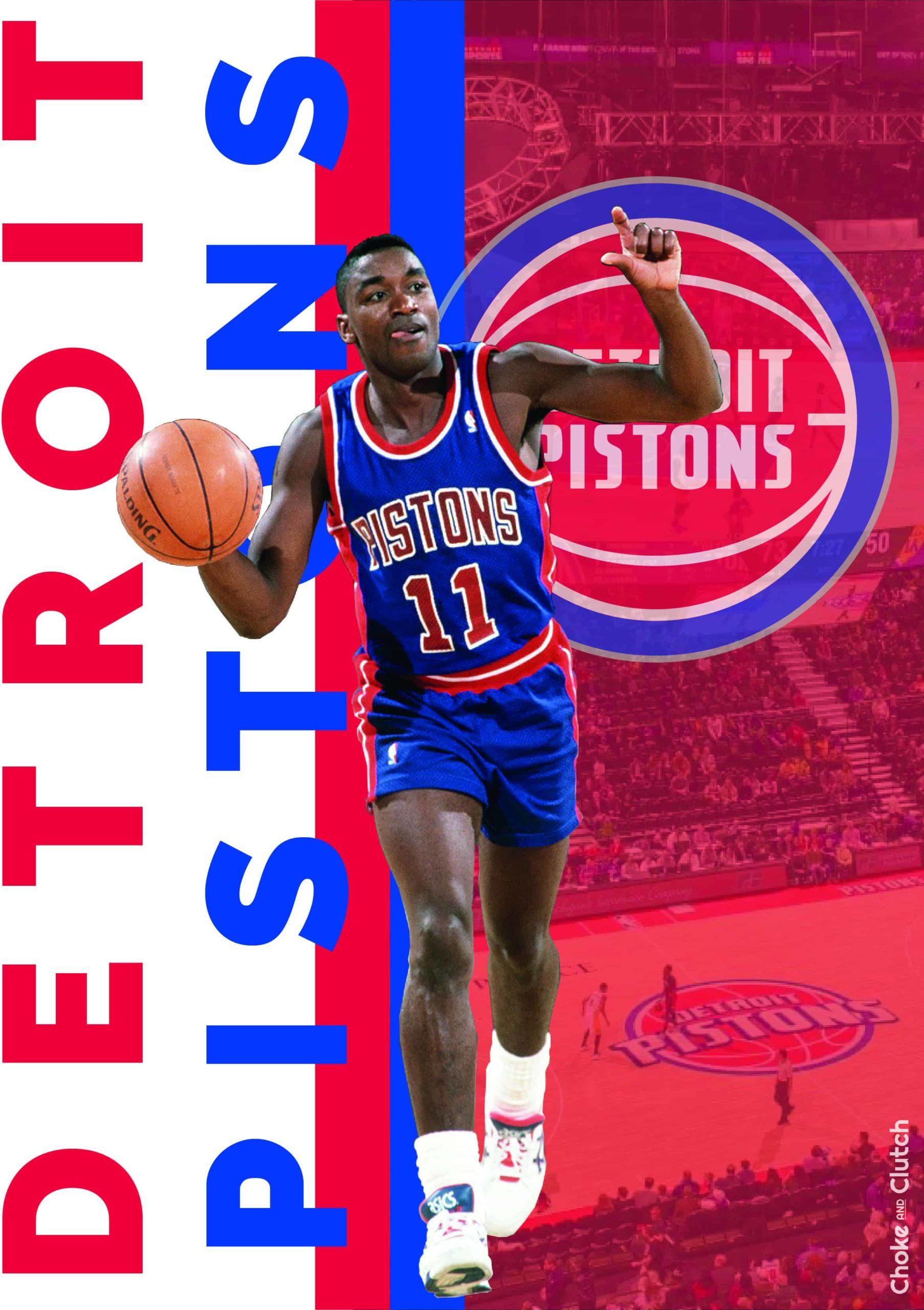 Histoire de la franchise NBA des Pistons de Détroit