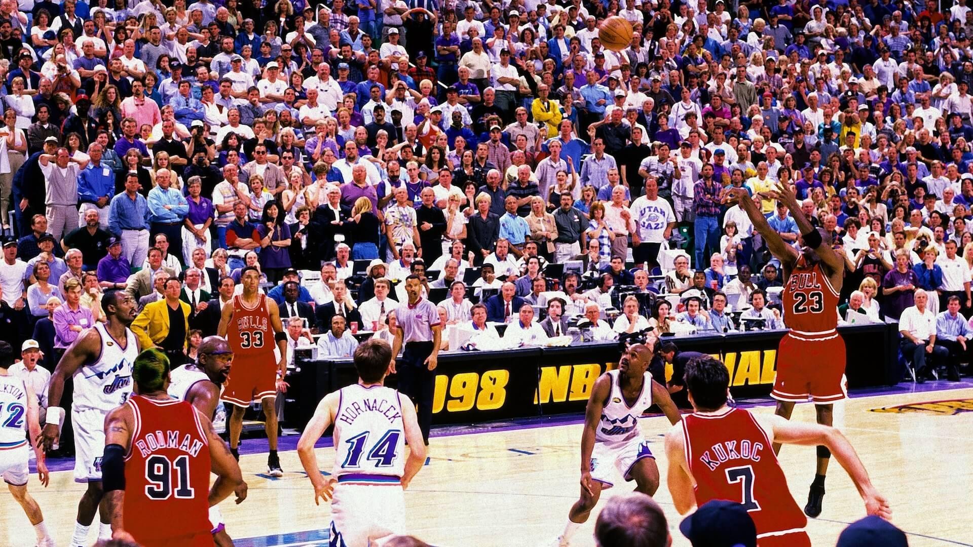 The shot clutch Michael Jordan en finale NBA 1998