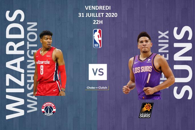 Pronostic NBA : Washington Wizards vs Phoenix Suns