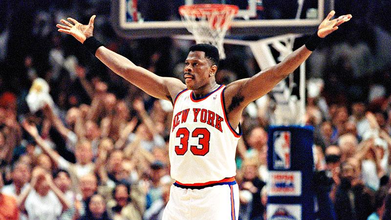 Patrick Ewing a choke avec sa franchise des Knicks