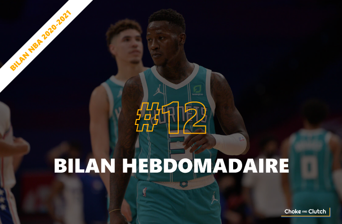 Bilan hebdomadaire NBA : Semaine 12 2020-2021