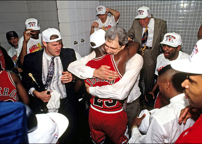 Michael Jordan est enfin champion NBA avec les Bulls de Chicago