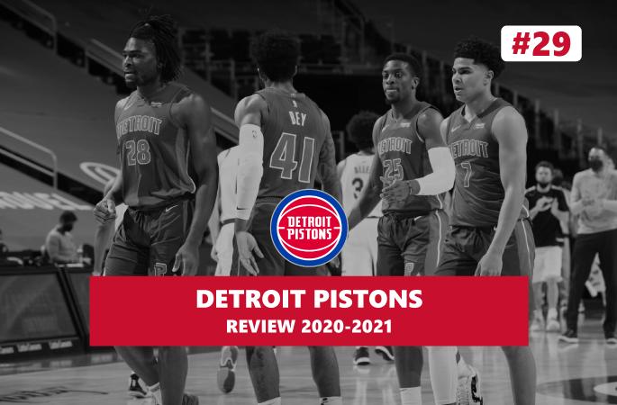 Review NBA Detroit Pistons saison 2020-2021