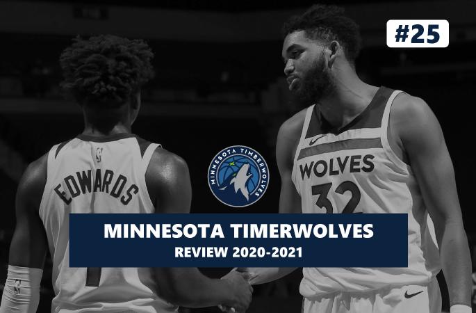 Review NBA Timberwolves Minnesota saison 2020-2021
