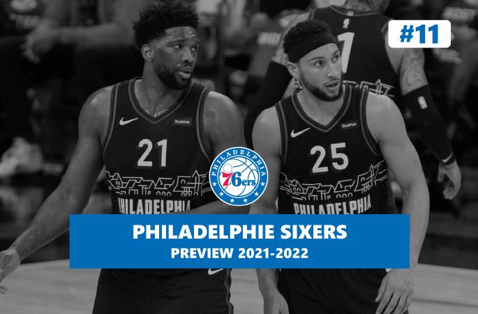 Preview Philadelphie Sixers saison 2021/2022 en NBA